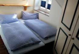 Schlafzimmer mit Doppelbett-Variante