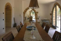 Masseria Ugento - dining room towards the kitchen - Ugento - Salento