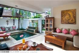 Villa Senin - Swimming Pool - Living Room
