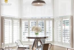 bay window dining room