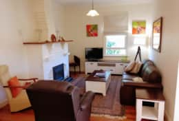 Spacious and comfortable living area Castlemaine Boutique Accommodation