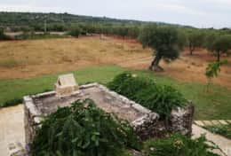 Cava - view from the house to the country-side - Barbarano - Salento