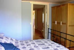 K39 Thistle Cottage – Bedroom 1 there is large wardrobe