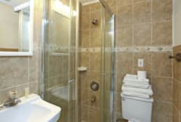 Unit 5: Bathroom with walk-in shower