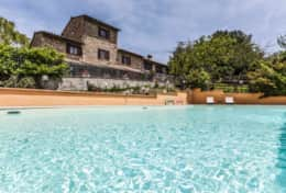 Casale Assisi, picture by Fabio Mercanti | Luxury wheelchair accessible villa
