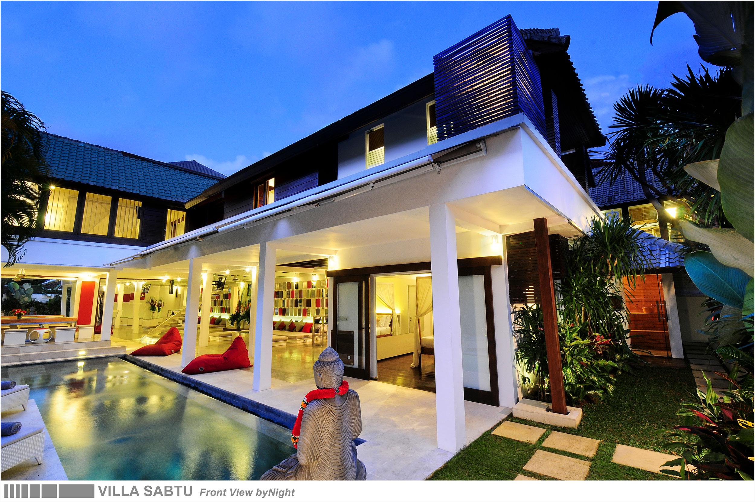 5 bedroom - 04 - villa sabtu - villa in seminyak
