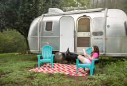 baby airstream chillin