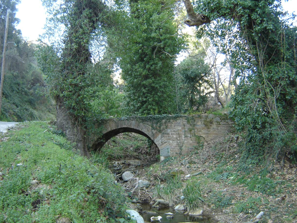 ancient bridge Afetes
