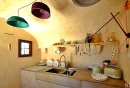 Falco - build-in stone kitchen - Ruffano - Salento