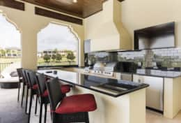 Exclusive Private Villas, 12 Bedroom Villa in Reunion Resort (E295) - Summer Kitchen