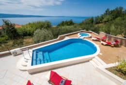 Exclusive Private Villas, 4 Bedroom Villa in Split Riviera (CRO120)