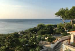 Villa sul mare - overlooking the property - Castro - Salento