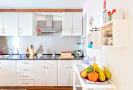 Enjoy your meals in the Kitchenette with refrigerator, microwave, coffee maker (italian and american