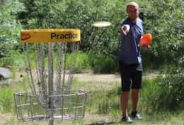 Free Frisbee Golf Course at Regional Park