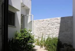 Azzurra - small courtyard on the back with toilette - Depressa di Tricase - Salento