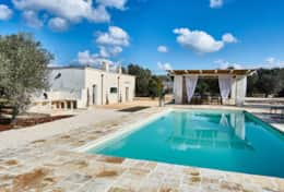 Villa Teia stunning cottage for vacation with heated pool in Ostuni Puglia  - 34