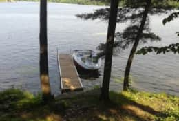 Dock from teh deck