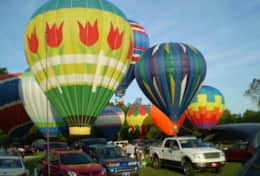Annual June Balloon Race from Helen to the Atlantic