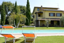 Villa Attigliano at 1 hour from Rome