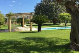 Casino Pisanelli - garden, pool - Ruffano - Salento