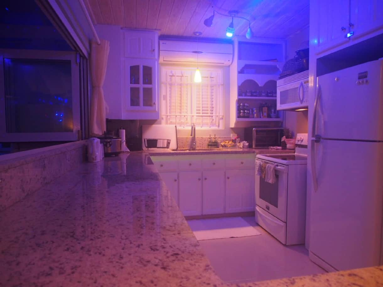 Night Kitchen View