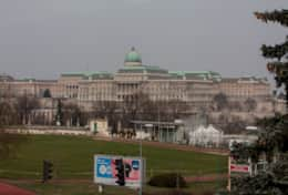 Daytime View Over Buda Castle