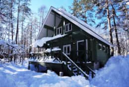 Big Foot Cabin - Winter