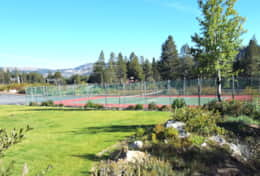 Tennis Courts Behind Museum
