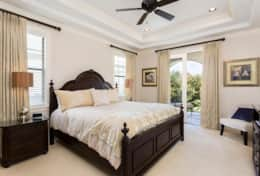 Exclusive Private Villas, 5 Bedroom Classy Vacation Home in Florida (E191) - Master Bed-1