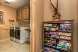 Games for All Ages, Washer & Dryer Room