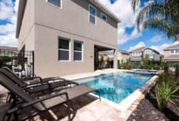 Exclusive Private Villas, 6 Bedroom Comfortable Villa In Orlando (ENC009) - Pool4