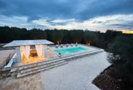 Villa Teia stunning cottage for vacation with heated pool in Ostuni Puglia  - 45