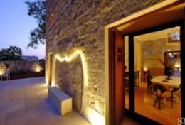Falco - outdoor towards the dining room - Ruffano - Salento