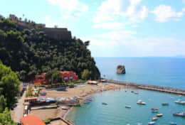 Vico Equense's beach (approximately 20 minutes drive from Casa Enzuccio)