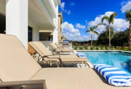 Spacious 5 Bedroom Vacation Rental In Reunion Resort (E185) - Pool Deck-2