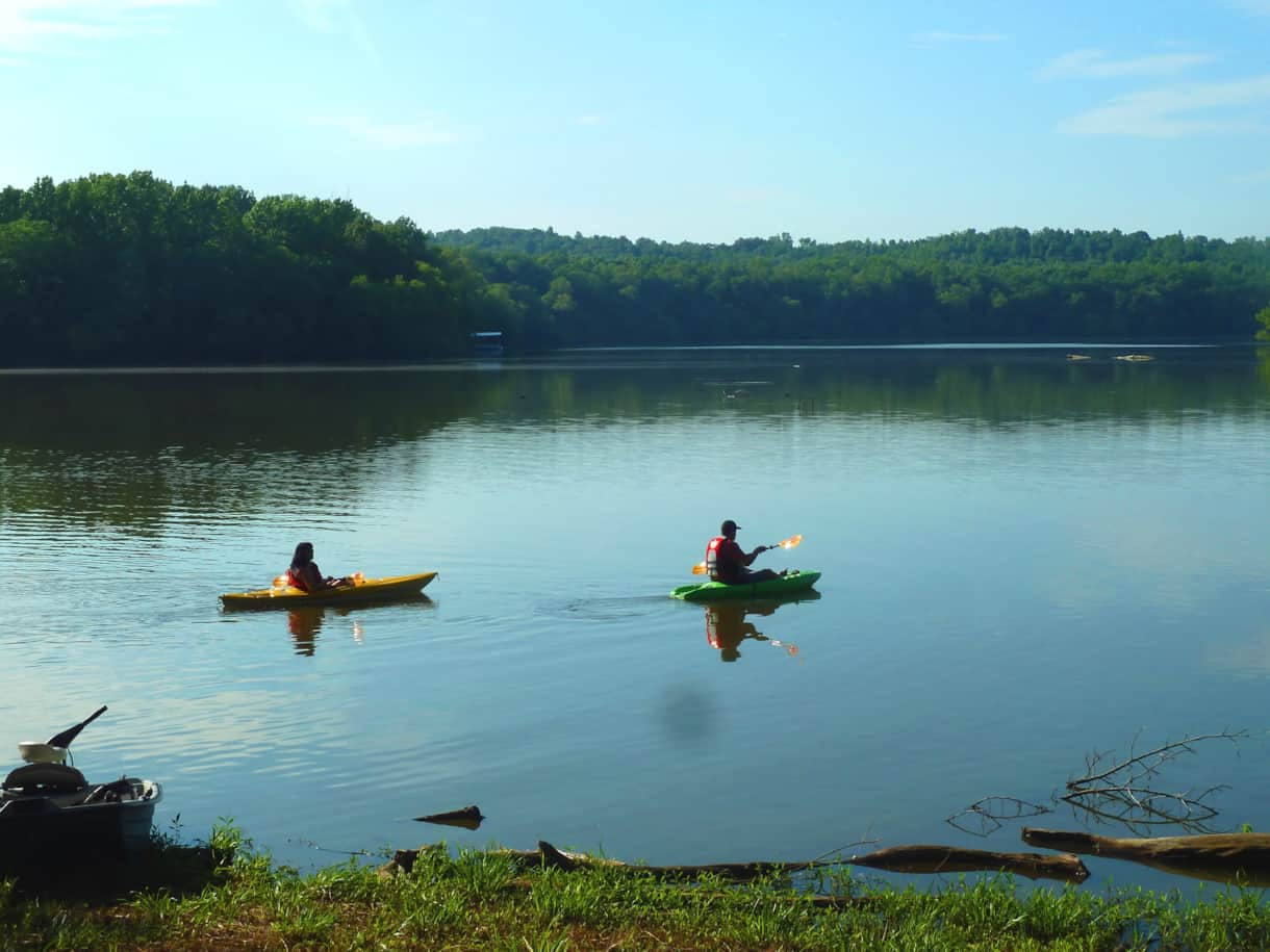 4 kayaks included with rental agreement