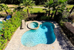 Exclusive Private Villas, 5 Bedroom Classy Vacation Home in Florida (E191) - Pool-3