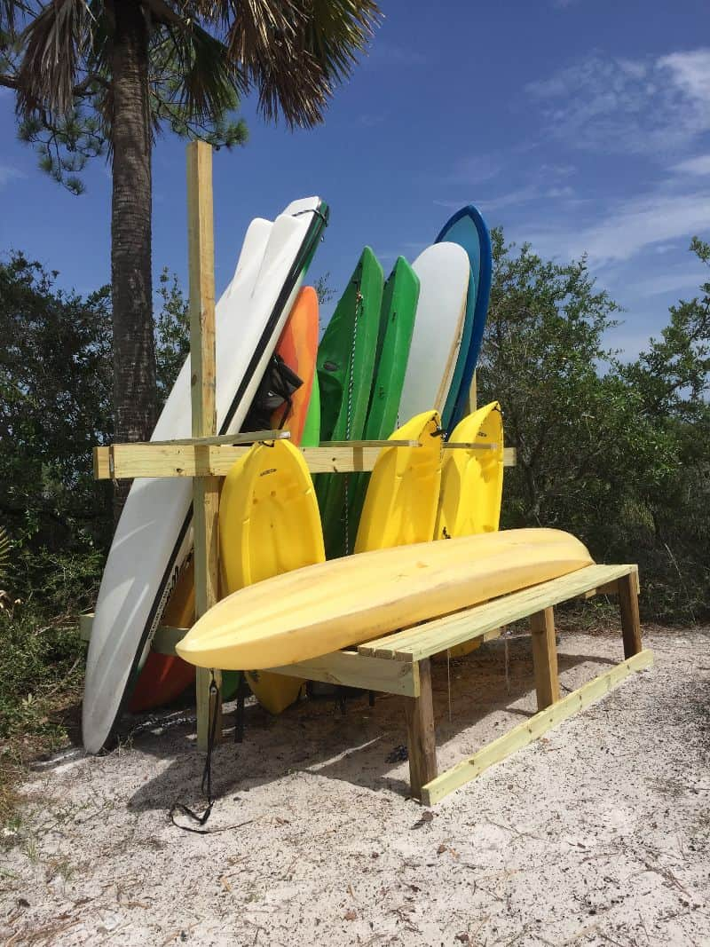 Kayak paddle boards