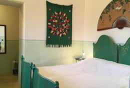Le More - green double/twin bedroom - Spongano - Salento