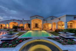 $6 million estate with huge private pool and spa with stunning mountain views
