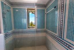 Villa sul mare - en-suite bathroom with shower - Castro - Salento