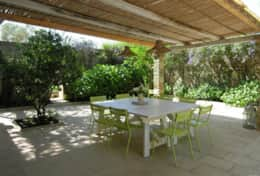 Casino Pisanelli MH - courtyard with dining area - Ruffano - Salento