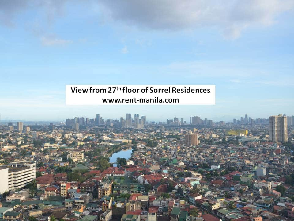 View from 27th floor of Sorrel Residences