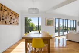 L'Ciabot Rye Open Plan Dining + Loungeroom - Good House Holiday Rentals Mornington Peninsula