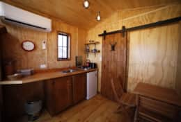 Damara Hut Kitchenette