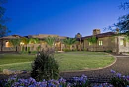 Over one acre of manicured grounds with incredible mountain views!