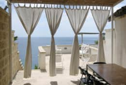 Onda blu - terrace with sea view - Marina di Andrano - Salento