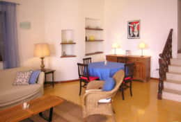 Casa Eolia - living with dining area - Castro Marina
