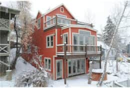 Large 4 bedroom luxury home steps from Main street and Park City Town ski lift