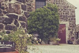 Limepark cottages on the North coast of Ireland